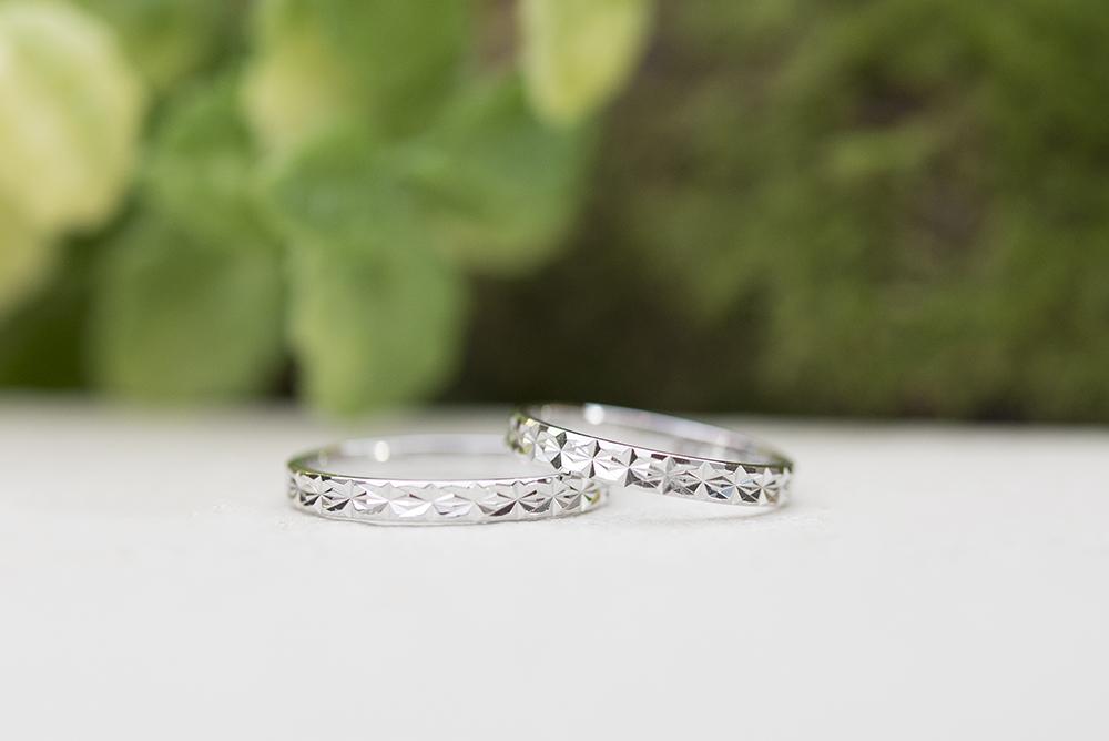 Rivage(リヴァージュ)の結婚指輪|Aisne(エーヌ)