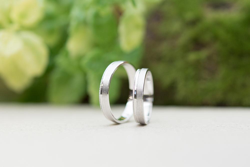 Rivage(リヴァージュ)の結婚指輪|Rhone(ローヌ)151001