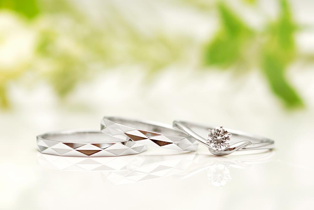 婚約指輪と結婚指輪3
