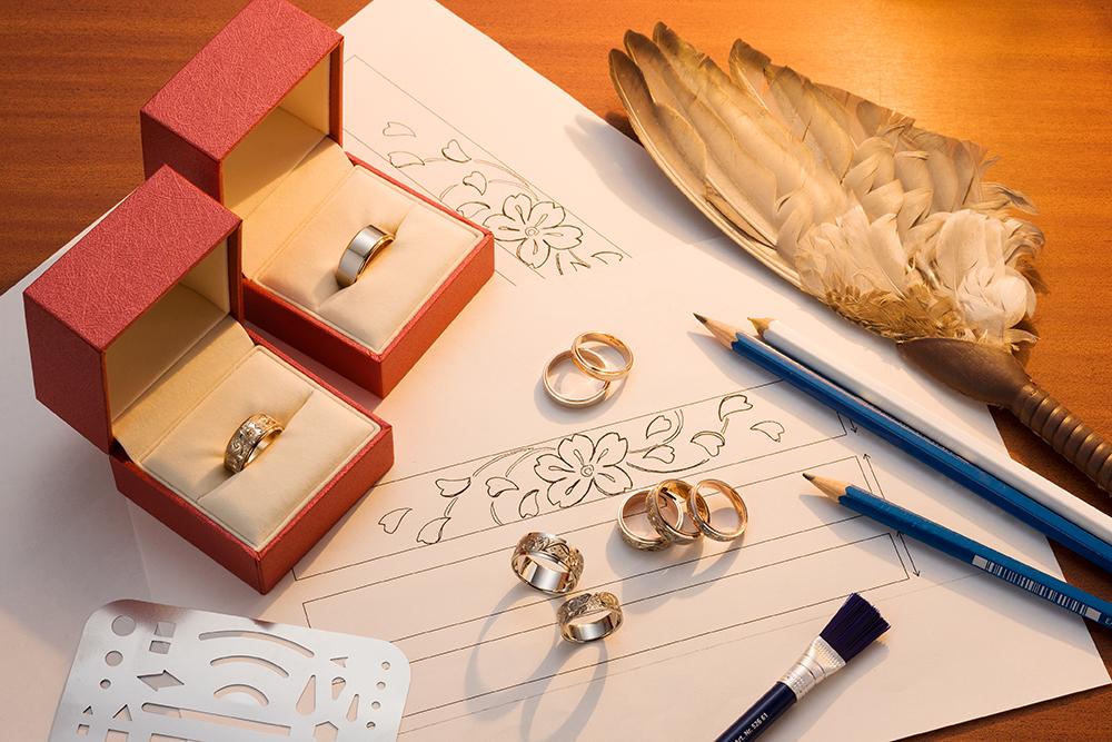 結婚指輪のフルオーダー